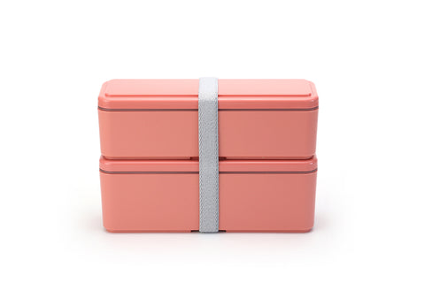 Gel-Cool Fit Slim Bento Box Small/Large | Macaroon Pink