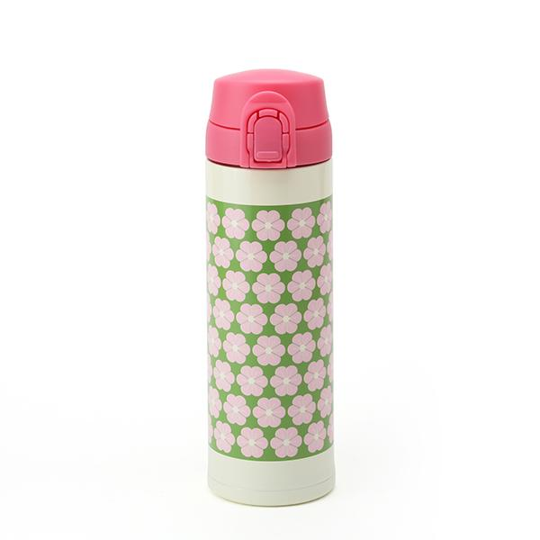 Scandinavian Stainless Steel Thermos | Cherry Blossom by Gel Cool - Bento&co Japanese Bento Lunch Boxes and Kitchenware Specialists