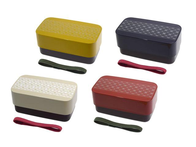Asanoha Leaf Rectangle Bento Box | Yellow by Sabu Hiromori - Bento&co Japanese Bento Lunch Boxes and Kitchenware Specialists