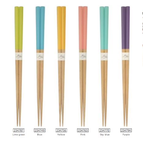 Fufu Colors Chopsticks | Purple
