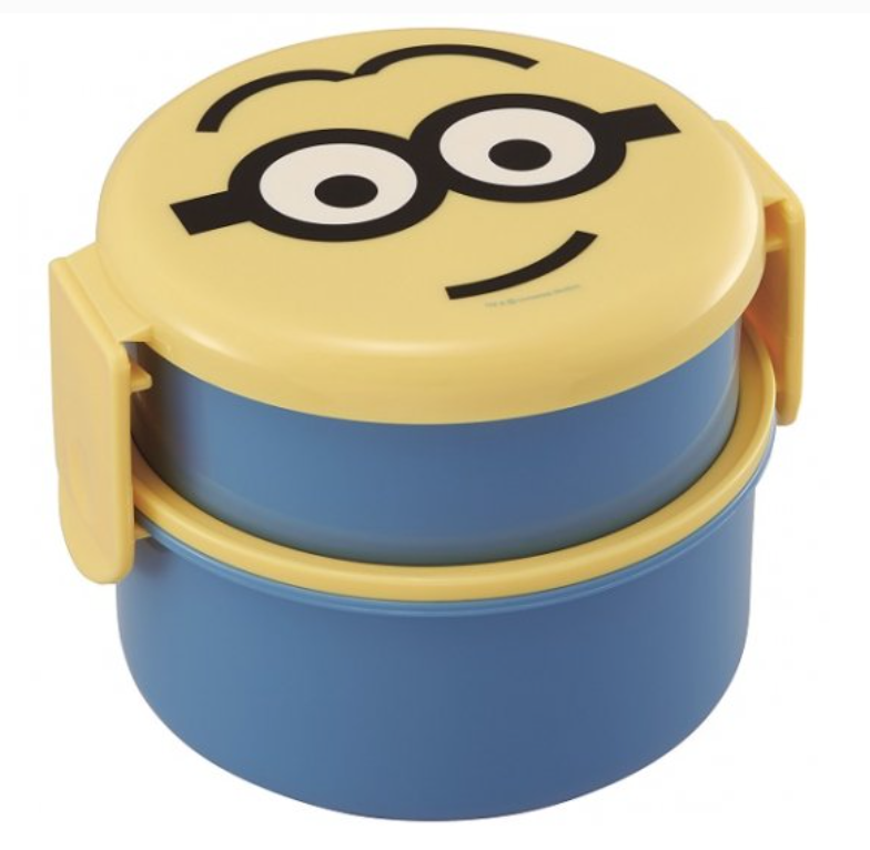Minions Round Two Tier Lunch Bowl