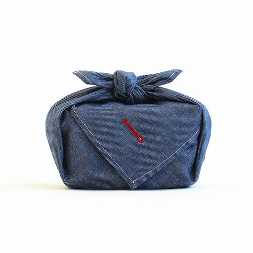 Furoshiki Denim | Navy by Yamada Seni - Bento&co Japanese Bento Lunch Boxes and Kitchenware Specialists