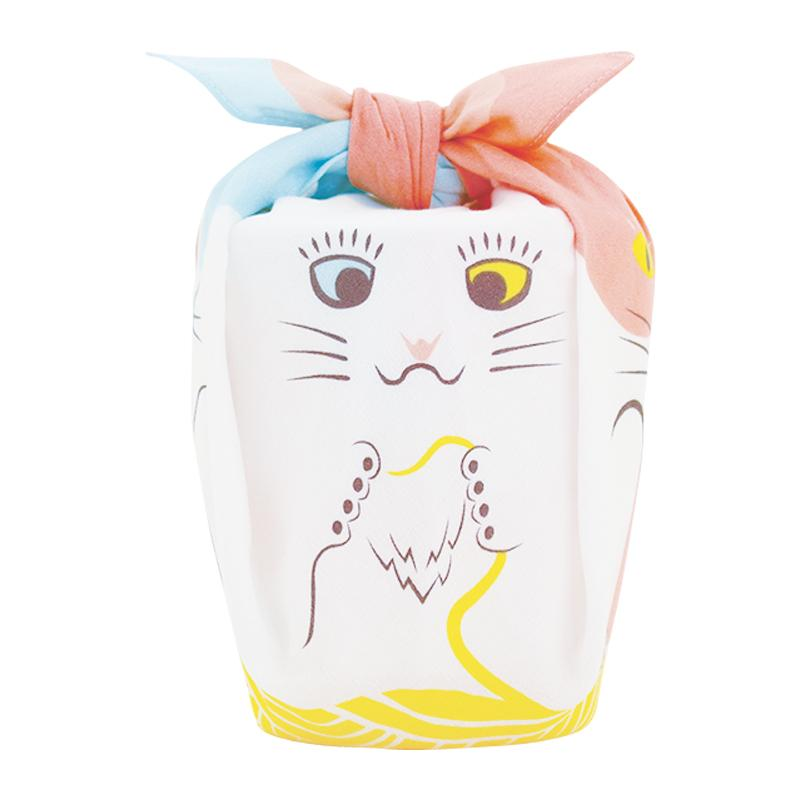 Cochae Animal Furoshiki Musubi | Cats by Yamada Seni - Bento&co Japanese Bento Lunch Boxes and Kitchenware Specialists