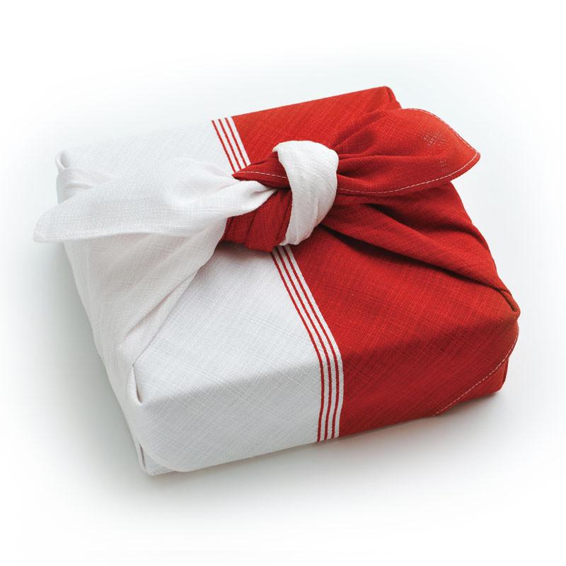 Furoshiki Wrapping Cloth | Red and White by Yamada Seni - Bento&co Japanese Bento Lunch Boxes and Kitchenware Specialists