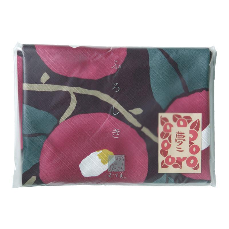 Furoshiki Wrapping Cloth | Tsubaki Dark Purple by Yamada Seni - Bento&co Japanese Bento Lunch Boxes and Kitchenware Specialists