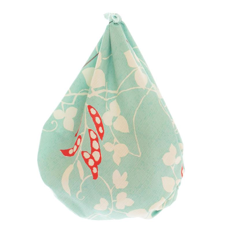 Furoshiki Wrapping Cloth | Turquoise Beans by Yamada Seni - Bento&co Japanese Bento Lunch Boxes and Kitchenware Specialists