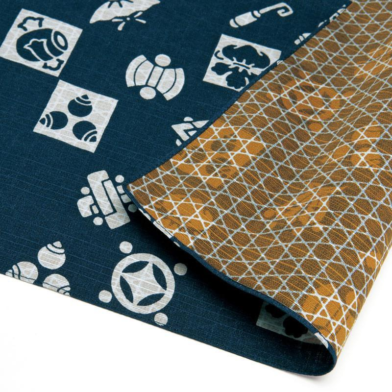 Double Sided Cotton Furoshiki Wrapping Cloth | Treasures by Yamada Seni - Bento&co Japanese Bento Lunch Boxes and Kitchenware Specialists