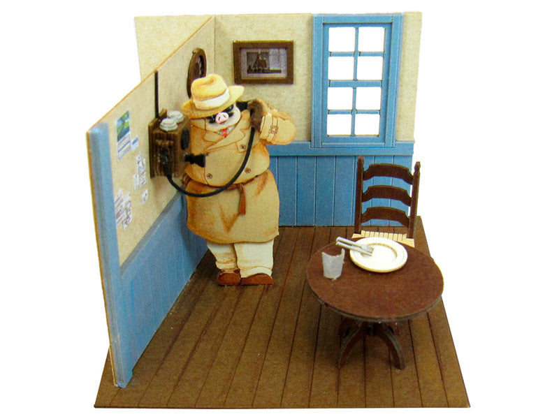 Miniatuart | Porco Rosso: Porco on the Phone by Sankei - Bento&co Japanese Bento Lunch Boxes and Kitchenware Specialists