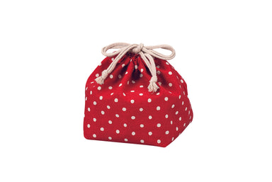 Polka Dots Bag | Red by Hakoya - Bento&co Japanese Bento Lunch Boxes and Kitchenware Specialists