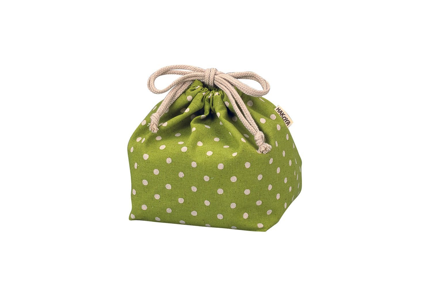 Polka Dots Bag | Green by Hakoya - Bento&co Japanese Bento Lunch Boxes and Kitchenware Specialists