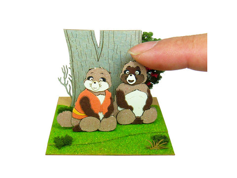Miniatuart | Pom Poko : Shoukichi and Okiyo by Sankei - Bento&con the Bento Boxes specialist from Kyoto