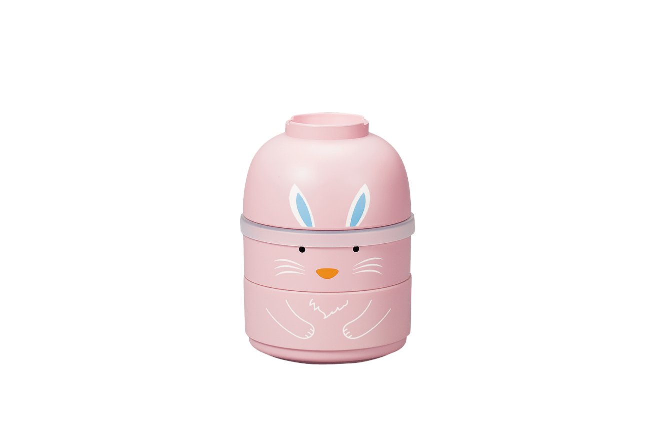 Kokeshi Usagi Bento | Pink by Hakoya - Bento&co Japanese Bento Lunch Boxes and Kitchenware Specialists