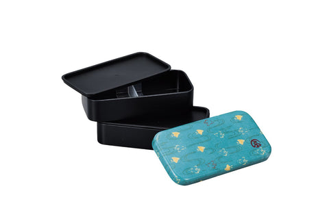 Wafu Cloth Rectangle Bento Box Small | Plover