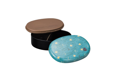 Wafu Cloth Round Bento Box | Plover