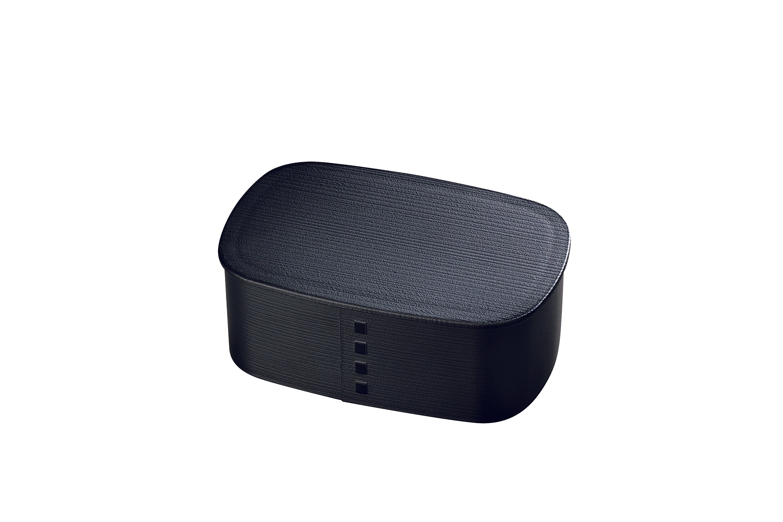 Nuri Wappa One Tier Bento Box | Black by Hakoya - Bento&co Japanese Bento Lunch Boxes and Kitchenware Specialists