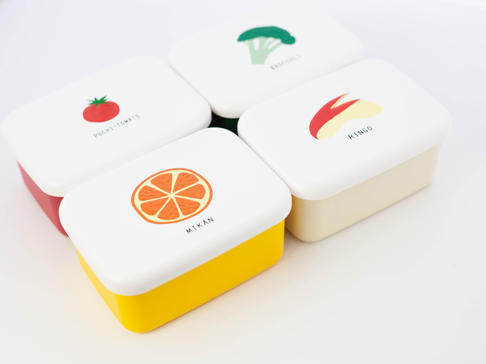 Snack Foods Bento Box | Tomato by Hakoya - Bento&co Japanese Bento Lunch Boxes and Kitchenware Specialists