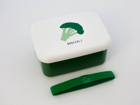 Snack Foods Bento Box | Broccoli by Hakoya - Bento&co Japanese Bento Lunch Boxes and Kitchenware Specialists