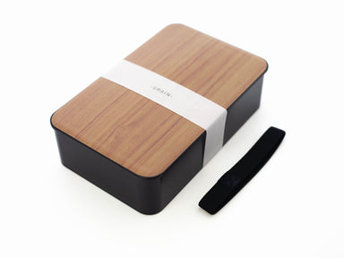 Woodgrain One Tier Bento Box 1000mL | Cherry by Hakoya - Bento&co Japanese Bento Lunch Boxes and Kitchenware Specialists
