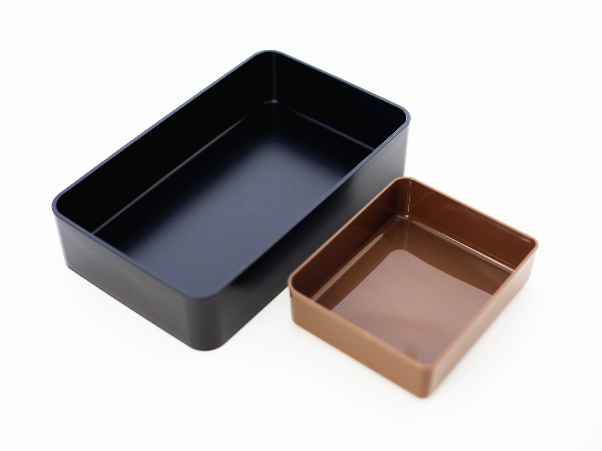 Woodgrain One Tier Bento Box 1000ml | Walnut by Hakoya - Bento&co Japanese Bento Lunch Boxes and Kitchenware Specialists