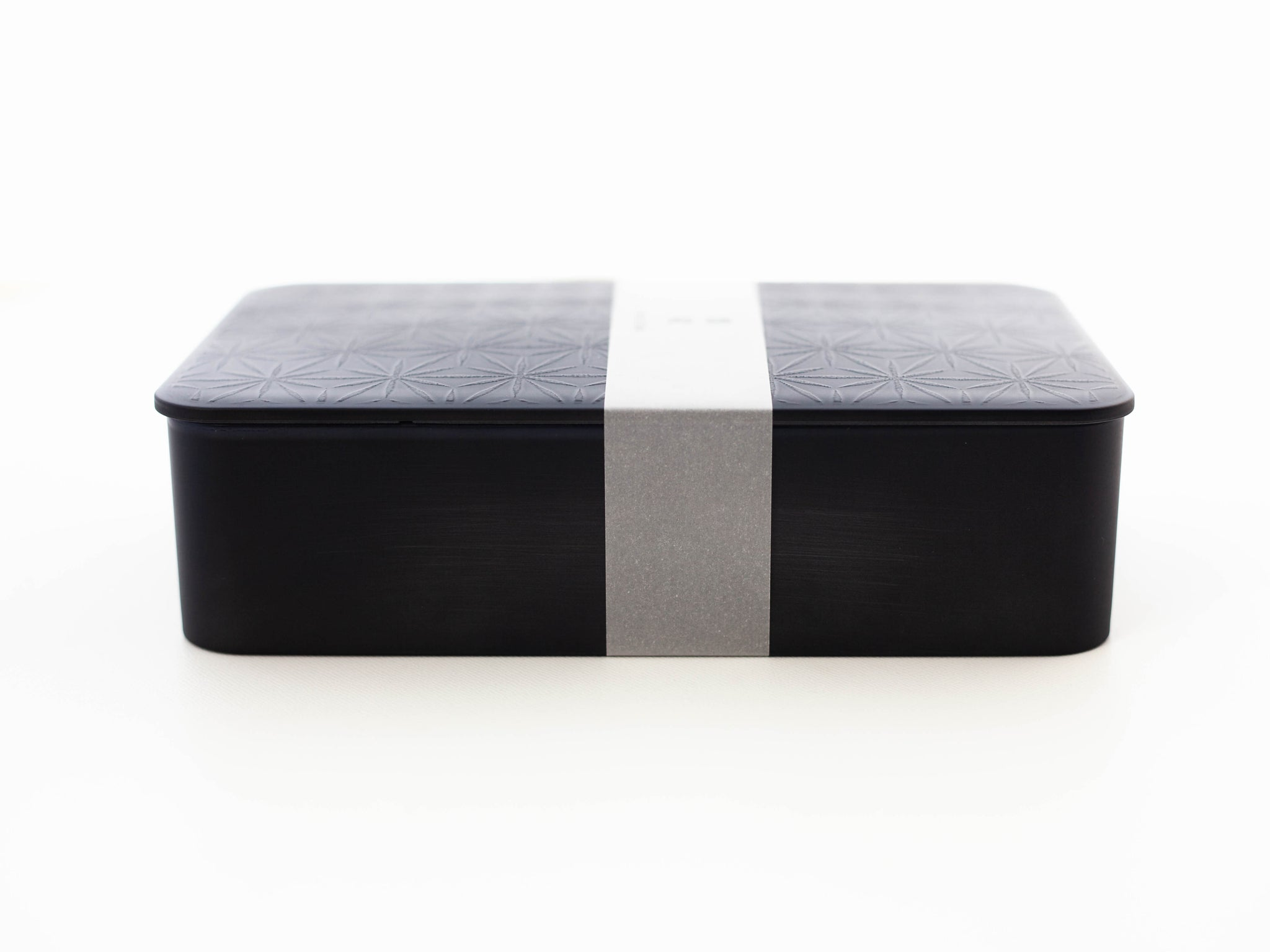 Kokutan One Tier Bento Box | Asanoha by Hakoya - Bento&co Japanese Bento Lunch Boxes and Kitchenware Specialists