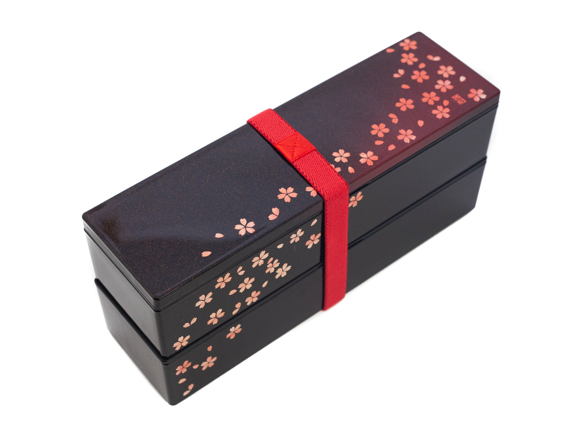 Sakura Petals Two Tier Slim Bento Box | 840mL