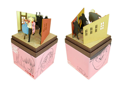 Miniatuart | Howl's Moving Castle : Howl and Sophie run away by Sankei - Bento&con the Bento Boxes specialist from Kyoto