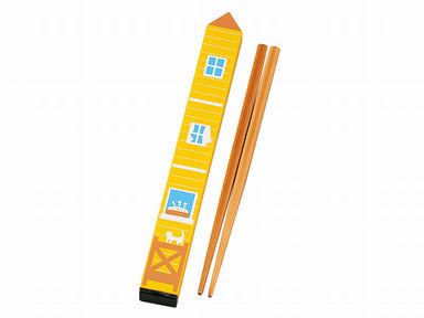 Obento House Chopsticks | Yellow by Hakoya - Bento&co Japanese Bento Lunch Boxes and Kitchenware Specialists