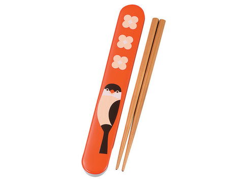 Kotoritachi Chopsticks | Orange Buncho by Hakoya - Bento&con the Bento Boxes specialist from Kyoto