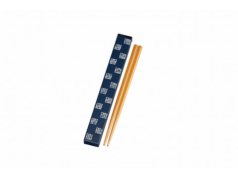 Some Mon Chopsticks Hana Indigo by Hakoya - Bento&con the Bento Boxes specialist from Kyoto