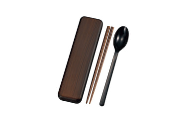 Tochinoki Spoon and Chopsticks Cutlery Set by Hakoya - Bento&co Japanese Bento Lunch Boxes and Kitchenware Specialists