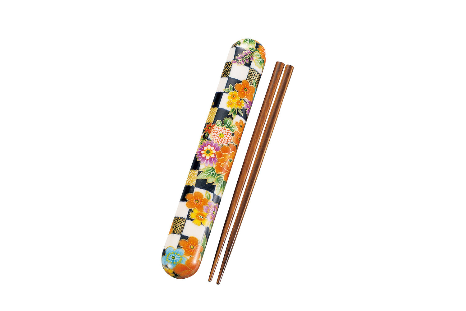 Ichimatsu flower Chopsticks Navy by Hakoya - Bento&co Japanese Bento Lunch Boxes and Kitchenware Specialists