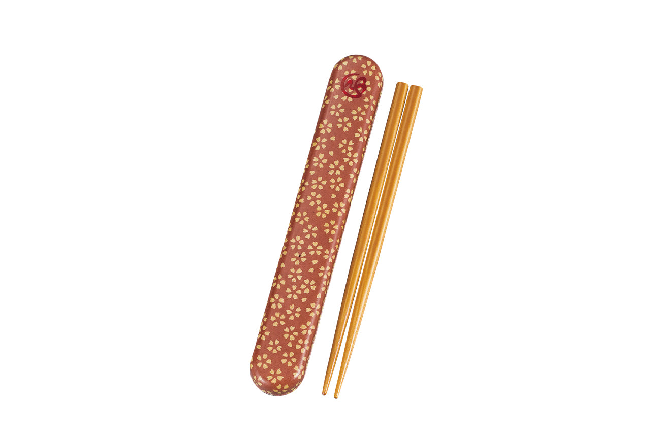 Wafu Cloth Chopsticks Set | Sakura Blossom by Hakoya - Bento&co Japanese Bento Lunch Boxes and Kitchenware Specialists