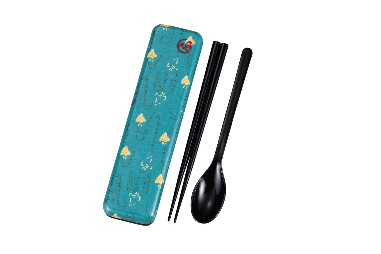Wafu Cloth Spoon and Chopsticks Set | Plover by Hakoya - Bento&co Japanese Bento Lunch Boxes and Kitchenware Specialists