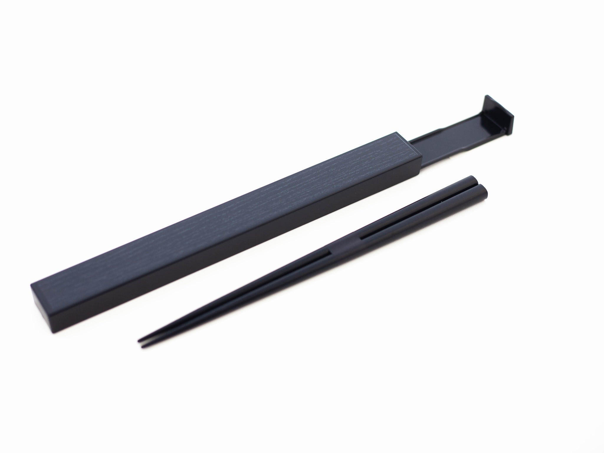Woodgrain Chopsticks Set 21cm | Black by Hakoya - Bento&co Japanese Bento Lunch Boxes and Kitchenware Specialists