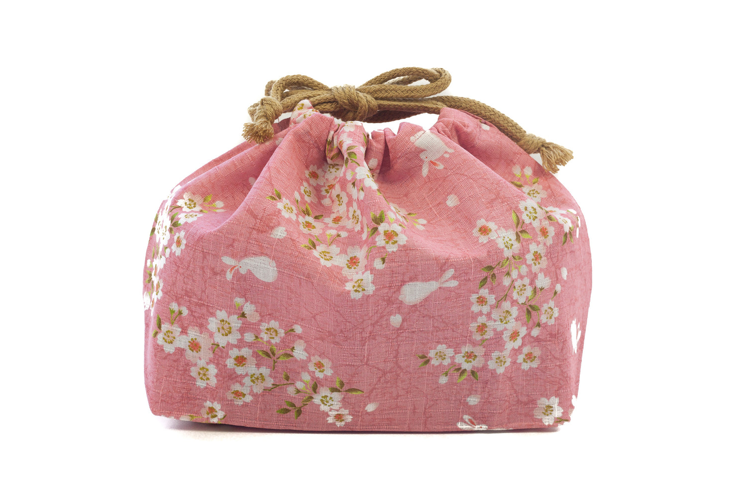 Sakura Rabbit Bento Bag | Pink