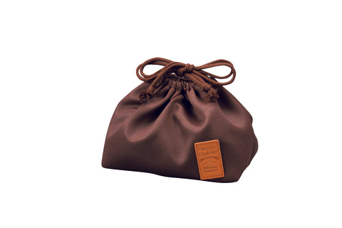 American Vintage Drawstring Bag | Dark Brown