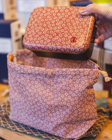 Wafu Cloth Bag | Sakura by Hakoya - Bento&co Japanese Bento Lunch Boxes and Kitchenware Specialists
