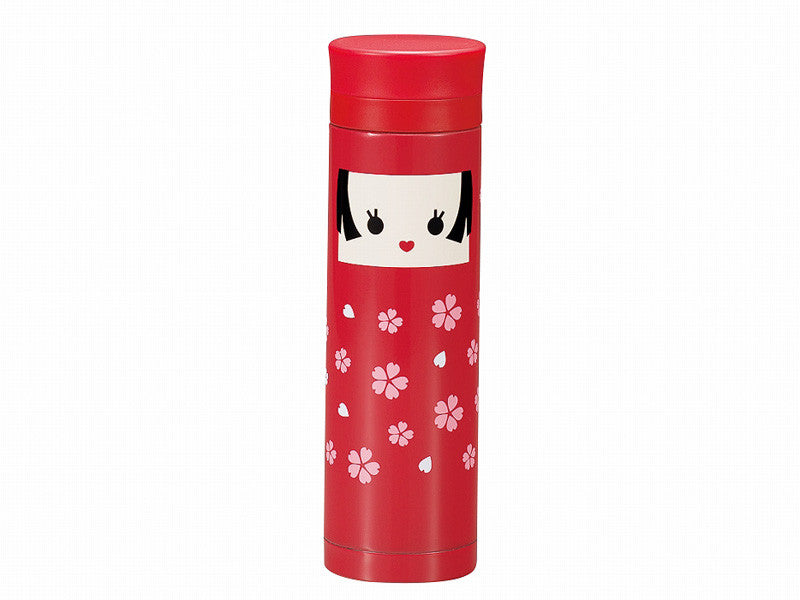 Kokeshi Bottle Hanako by Hakoya - Bento&con the Bento Boxes specialist from Kyoto