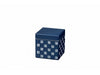 Some Mon Square Canister 350 Hana Indigo by Hakoya - Bento&co Japanese Bento Lunch Boxes and Kitchenware Specialists