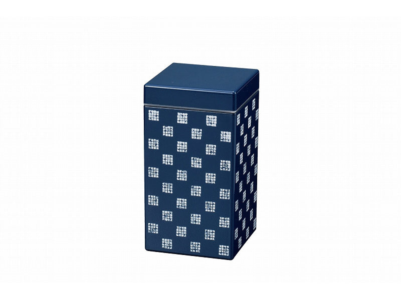 Some Mon Square Canister 800 Hana Indigo by Hakoya - Bento&co Japanese Bento Lunch Boxes and Kitchenware Specialists