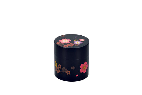 Sakura Tea Box Small | Black by Hakoya - Bento&co Japanese Bento Lunch Boxes and Kitchenware Specialists