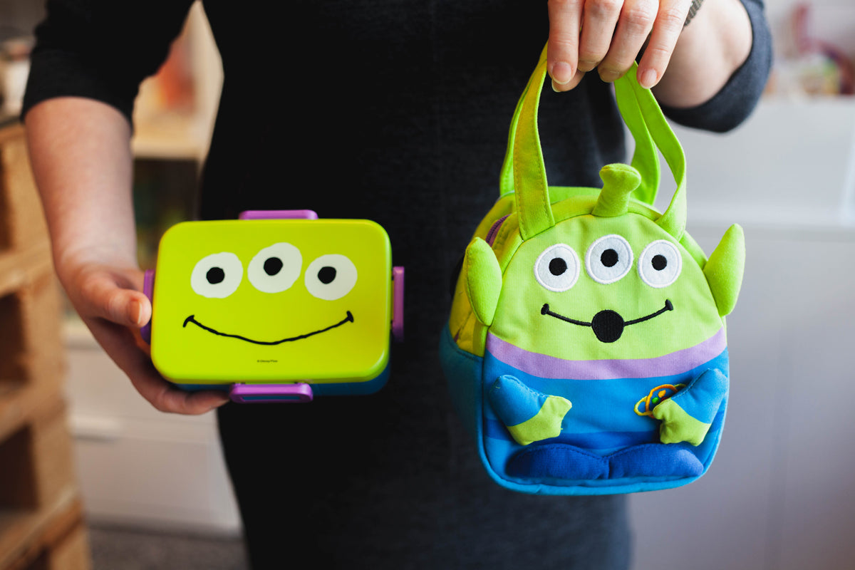 Toy Story Alien Bento Bag by Skater - Bento&co Japanese Bento Lunch Boxes and Kitchenware Specialists