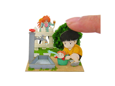 Miniatuart | Ponyo on the Cliff by the Sea : Sousuke, Ponyo and Fujimoto by Sankei - Bento&con the Bento Boxes specialist from Kyoto