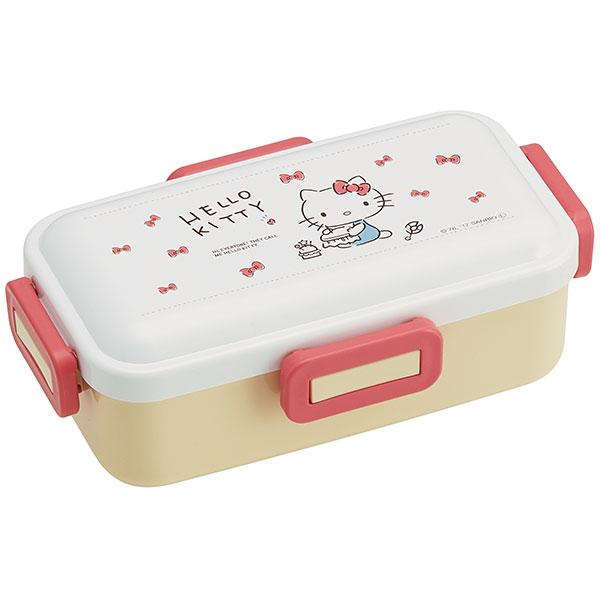 Hello Kitty Gingham Plaid Bento Box 530ml by Skater - Bento&con the Bento Boxes specialist from Kyoto