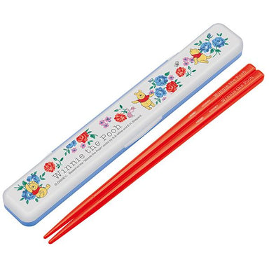 Winnie the Pooh Flower Chopsticks Set by Skater - Bento&co Japanese Bento Lunch Boxes and Kitchenware Specialists