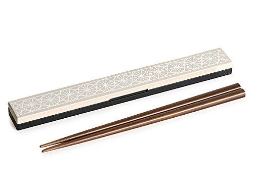 Asanoha Leaf Chopstick Set | Ivory by Sabu Hiromori - Bento&co Japanese Bento Lunch Boxes and Kitchenware Specialists