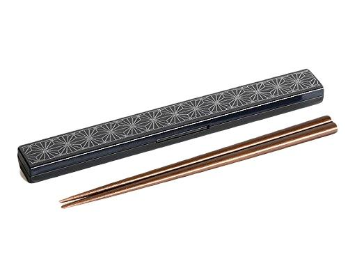 Asanoha Leaf Chopstick Set | Navy by Sabu Hiromori - Bento&co Japanese Bento Lunch Boxes and Kitchenware Specialists