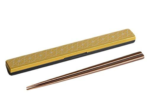 Asanoha Leaf Chopsticks Set | Yellow by Sabu Hiromori - Bento&co Japanese Bento Lunch Boxes and Kitchenware Specialists