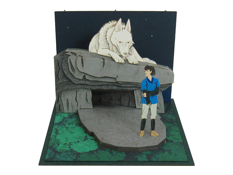 Miniatuart | Princess Mononoke : Moro and Ashitaka by Sankei - Bento&con the Bento Boxes specialist from Kyoto