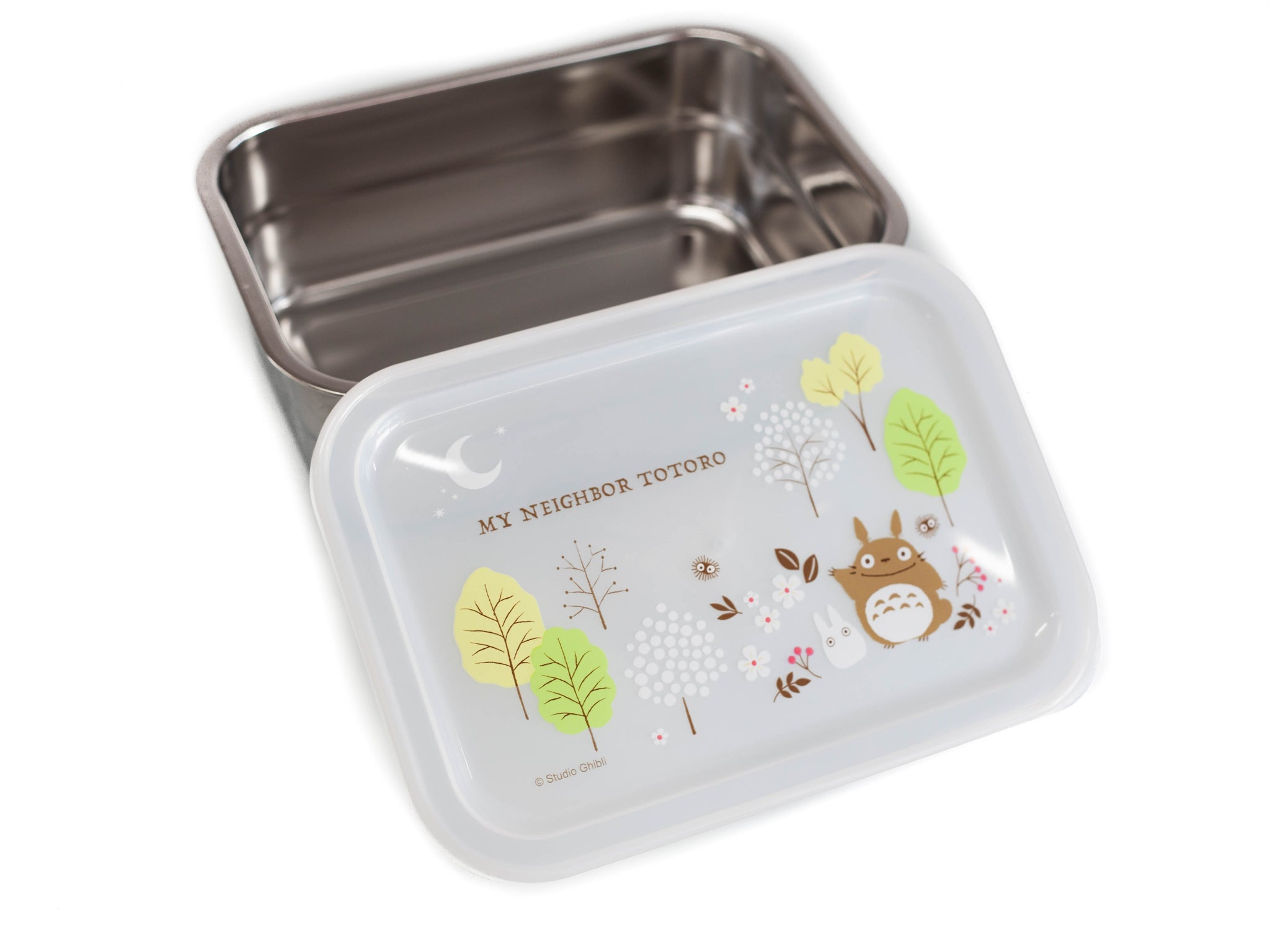 Totoro Field Stainless Steel Container 850ml by Skater - Bento&co Japanese Bento Lunch Boxes and Kitchenware Specialists